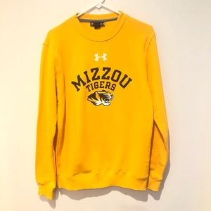 Under Armour Mizzou Tigers Sweatshirt Mens Small